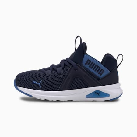 Dziecięce buty sportowe Enzo 2 Weave, Peacoat-Palace Blue, small