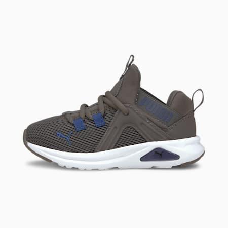 Enzo 2 Weave Kids Sneaker, CASTLEROCK-Elektro Blue, small