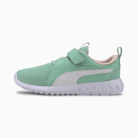 Carson 2 Shineline Little Kids' Shoes, Mist Green-Rosewater, small