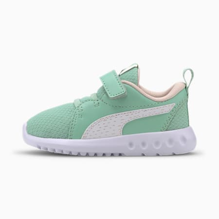 Carson 2 Shineline Toddler Shoes, Mist Green-Rosewater, small