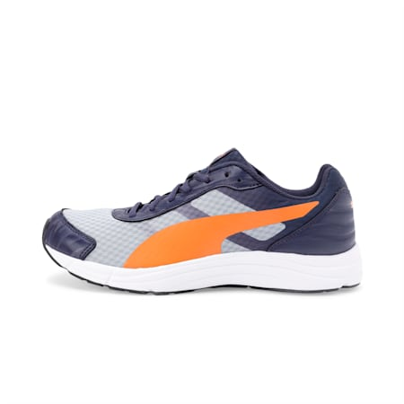 Supernova IDP Men's Running Shoe, Peacoat-Quarry-VibrantOrange, small-IND