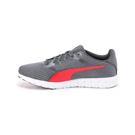 Convex Pro Men's Running Shoes, Dark Shadow-High Risk Red, small-IND
