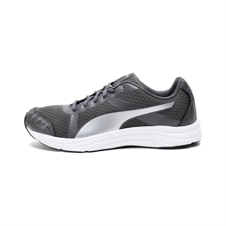 Voyager IDP Men's Running Shoes, Silver-Asphalt-Puma White, small-IND