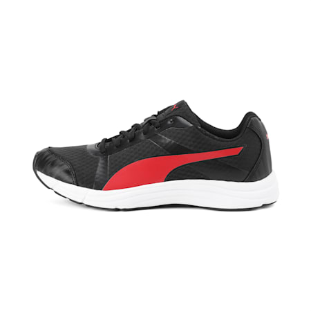 Voyager IDP Men's Running Shoes, Puma Black-High Risk Red, small-IND