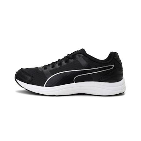 Neutron IDP Men's Running Shoes, Puma White-Puma Black-Silver, small-IND