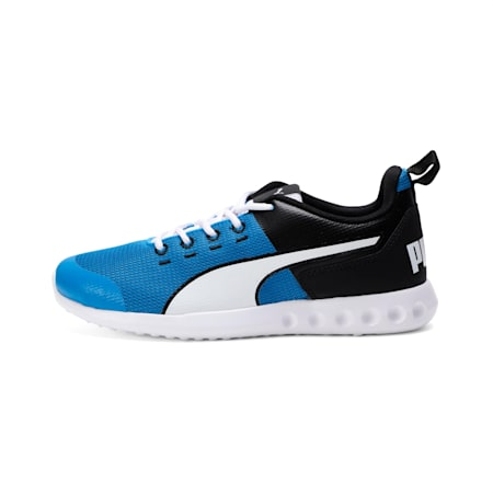 Chromeson IDP Running Shoes, Black-Indigo Bunting-White, small-IND
