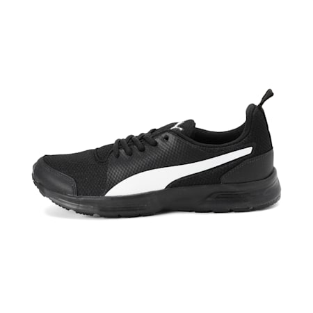 Speedster IDP Running Shoes, Black-White-Charcoal Gray, small-IND