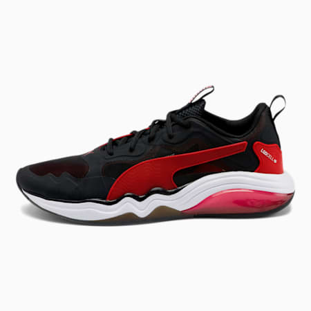 LQDCELL Tension Rase Men's Training Shoes, Puma Black-High Risk Red, small