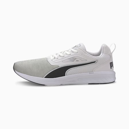 NRGY Rupture Running Shoes, White-Black-High Rise, small-IND