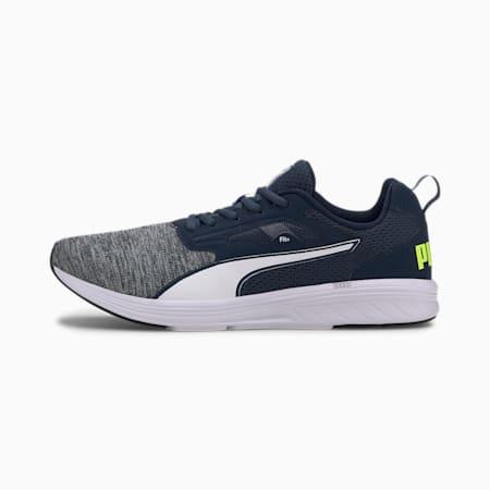 NRGY Rupture Running Shoes, DarkDenim-White-YellowAlert, small-IND