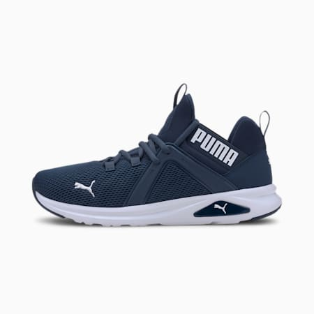 Enzo 2 Men's Running Shoes, Dark Denim-Puma White, small-IND