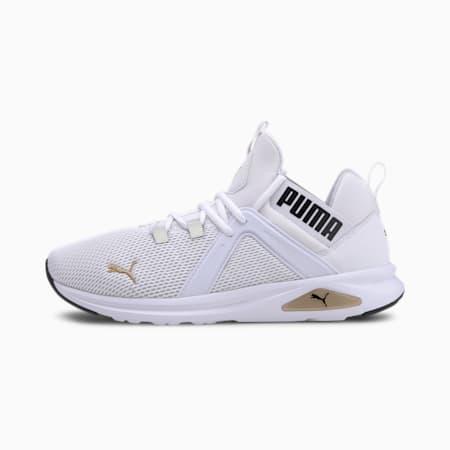 Enzo 2 Men's Running Shoes, White-Gold-Black, small