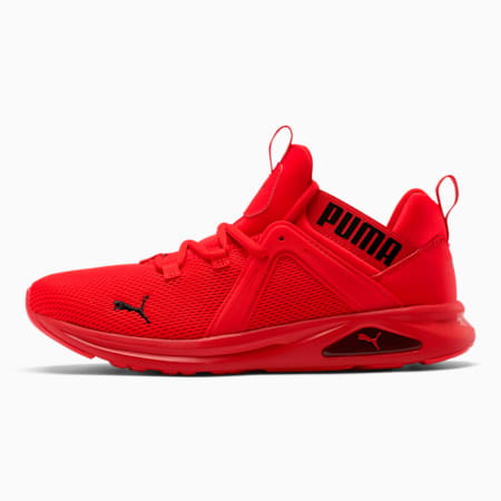 Enzo 2 Men's Running Shoes, High Risk Red-Puma Black, small-IND