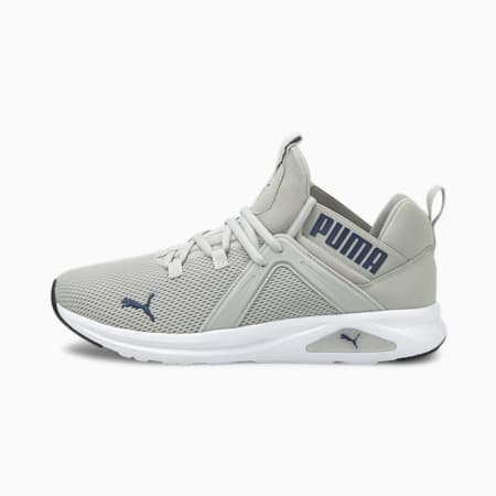 Enzo 2 Men's Running Shoes, Gray Violet-Elektro Blue, small