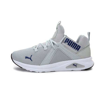 Enzo 2 Men's Running Shoes, Gray Violet-Elektro Blue, small-IND