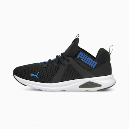 Enzo 2 Men's Running Shoes, Puma Black-Future Blue, small-IND