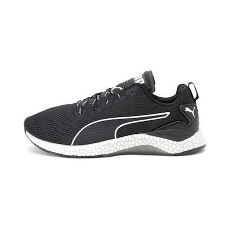 Hybrid Runner v2 Running Shoes, Puma Black-White-CASTLEROCK, small-IND