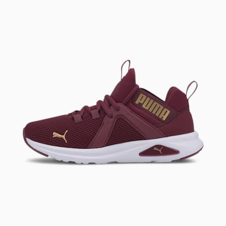 Enzo 2 Women's Running Shoes, Burgundy-Gold, small-IND