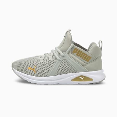 Enzo 2 Women's Running Shoes, Gray Violet-Puma Team Gold, small-GBR