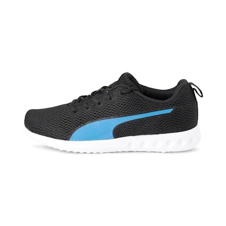 Dwane Men's Running Shoes, Puma Black-Indigo Bunting, small-IND