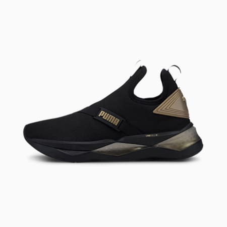 LQDCELL Shatter Mid Women's Training Shoes, Puma Black, small-IND