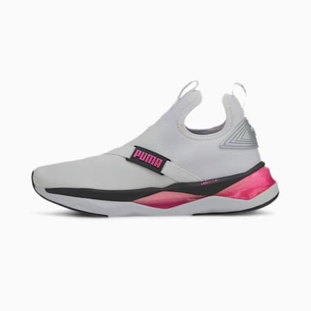 LQDCELL Shatter Mid Women's Training Shoes, White-Black-Pink, small-IND
