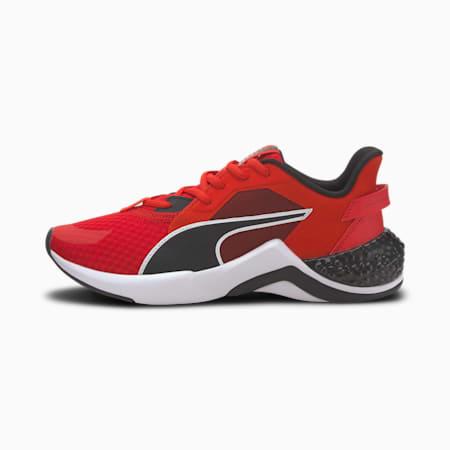 HYBRID NX Ozone Running Shoes JR, High Risk Red-Puma Black, small