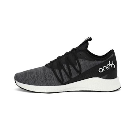 PUMA x one8 Virat Kohli NRGY Star Knit Running Shoes, Puma Black-Puma White, small-IND