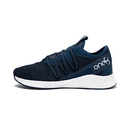 PUMA x one8 Virat Kohli NRGY Star Knit Running Shoes, Dark Denim-Puma White, small-IND