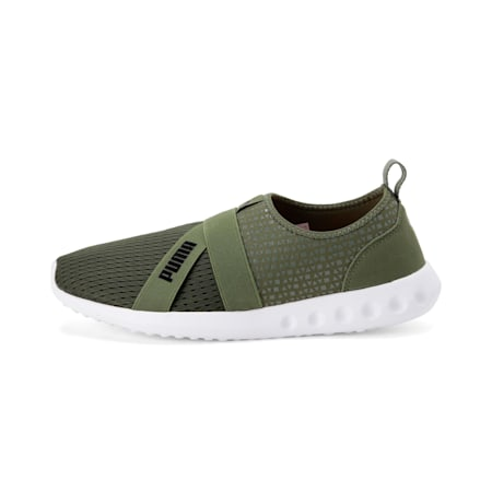 Cario Slip-on IDP Walking Shoe, Olivine-Puma Black, small-IND