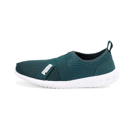 Cario Slip-on IDP Walking Shoe, Ponderosa Pine-Puma White, small-IND