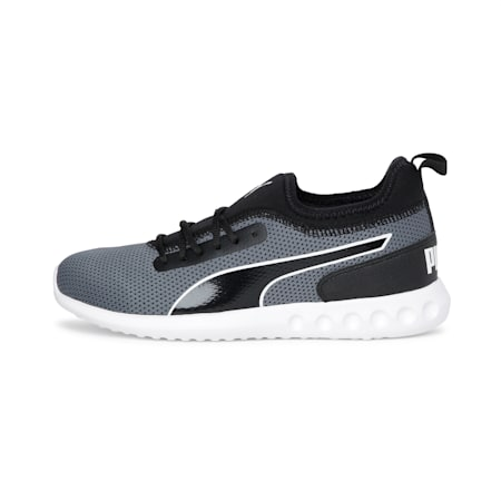 Concave v2 IDP Runing Shoe, Puma Black-White-CASTLEROCK, small-IND