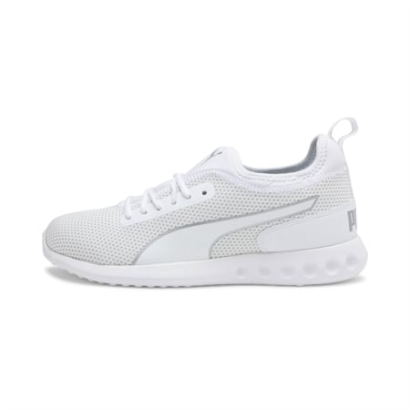 Concave v2 IDP Runing Shoe, White-Glacier Gray-Silver, small-IND