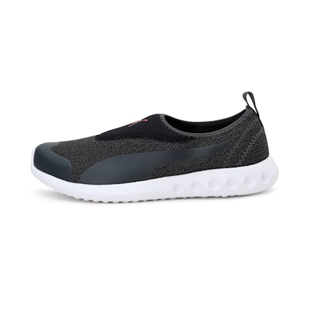 Concave 2 Slip-On Women's Walking Shoes, Dark Shadow-BRIGHT ROSE, small-IND