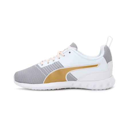 Carson Pro IDP SoftFoam Running Shoes, Parchment-Rose Gold-White, small-IND
