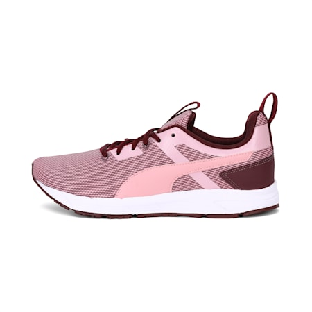 Progression Duo IDP Women's Running Shoes, Wine-Bridal Rose-Puma White, small-IND