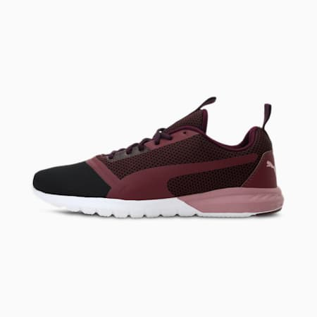 Vigor Prime IDP Running Shoes, Wine-Gold-White-Black, small-IND