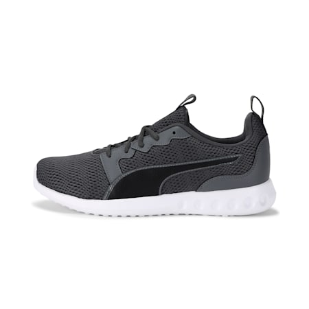 Concave Pro X IDP SoftFoam Running Shoes, CASTLEROCK-Puma Black-White, small-IND