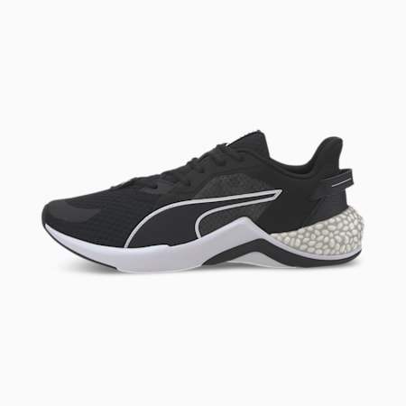 Hybrid NX Ozone Running Shoes, Puma Black-Puma White, small-IND