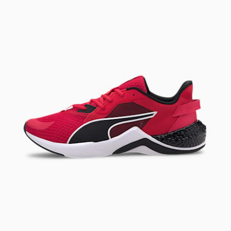 Hybrid NX Ozone Running Shoes, High Risk Red-Puma Black, small-IND