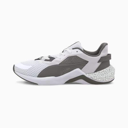 HYBRID NX Ozone Men's Running Shoes, Puma White- Black-CASTLEROCK, small