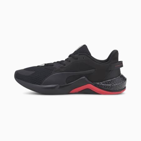 HYBRID NX Ozone Men's Running Shoes, Puma Black-High Risk Red, small