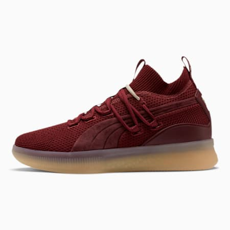 Clyde Court Def Jam Basketball Shoes, Cordovan, small