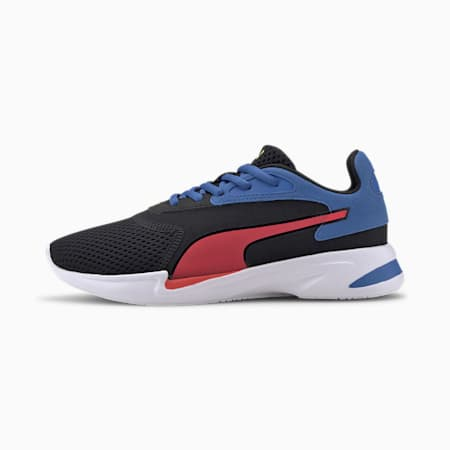 Jaro Jr Shoes, Black-Blue-Red, small-IND