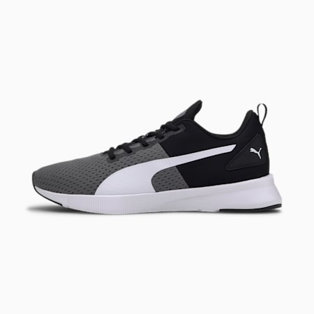 Flyer Runner Sport Shoes, CASTLEROCK-Black-White, small-IND