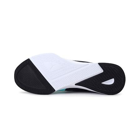 Flyer Runner Sport Shoes, Puma Black-ARUBA BLUE-Puma White, small-IND