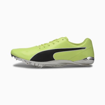 evoSPEED Electric 8 Men's Track Spikes, Fizzy Yellow-Puma Black, small