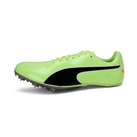 evoSPEED Sprint 10 Unisex Running Shoes, Fizzy Yellow-Puma Black, small-IND
