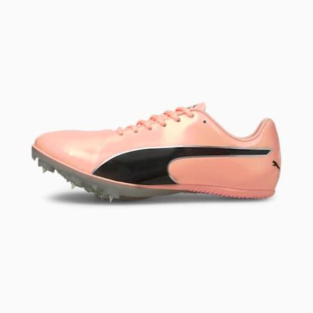 evoSPEED Sprint 10 Track & Field schoenen, Elektro Peach-Black-Silver, small