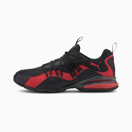 Silverion Men's Running Shoes, Puma Blck-Hgh Rsk Rd-Cstlrck, small